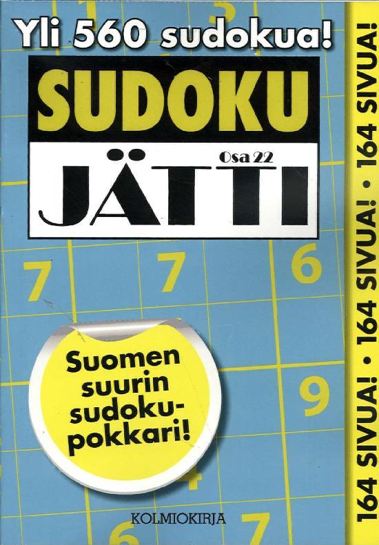 Sudoku-Jätti Osa 22 2/2020