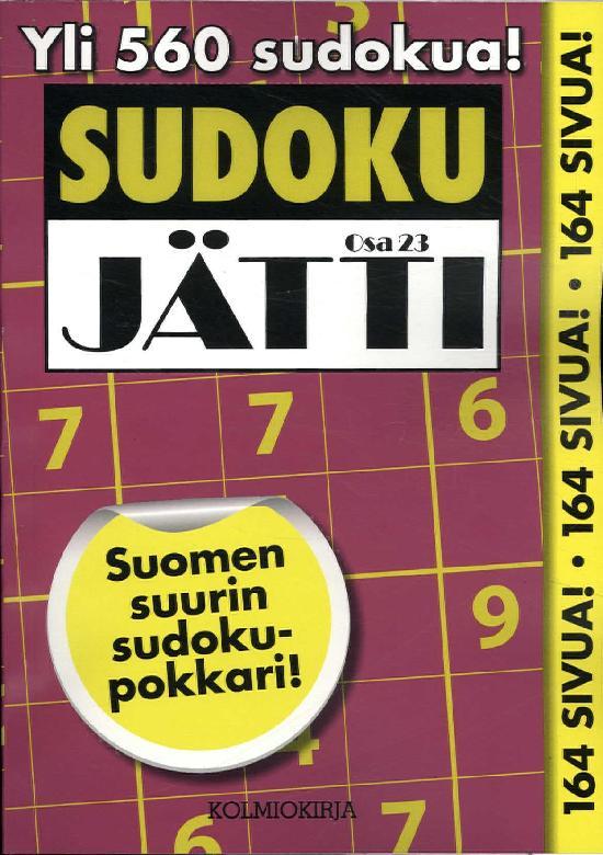 Sudoku-Jätti Osa 23 3/2020