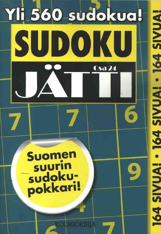 Sudoku-Jätti Osa 24 4/2020
