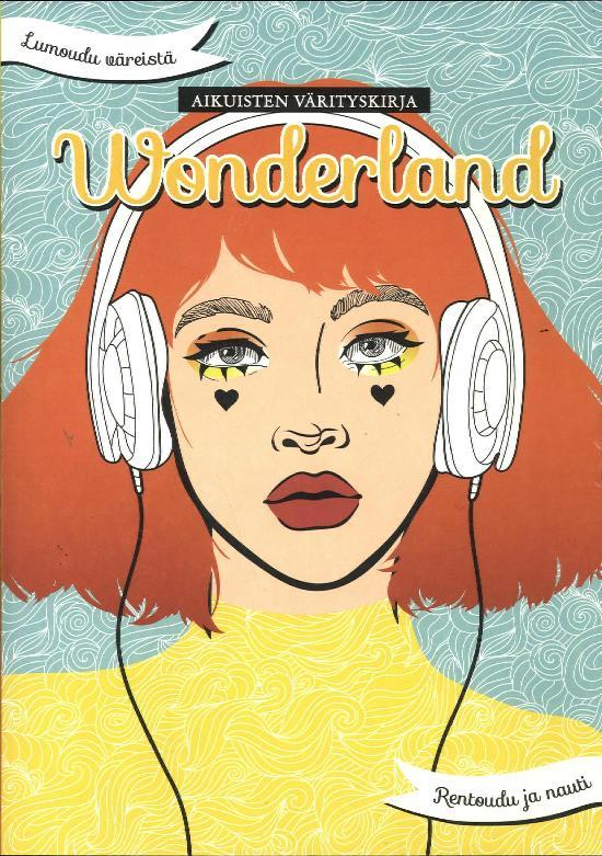 Aikuisten värityskirja Wonderland Osa 18 2020
