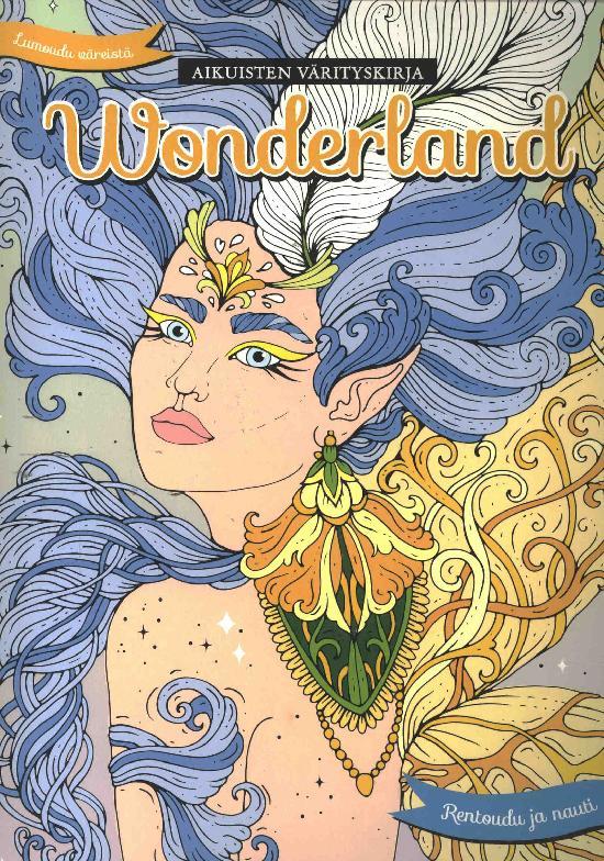 Aikuisten värityskirja Wonderland Osa 21 4/2020