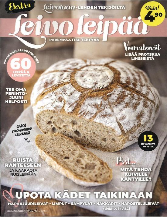 Leivotaan Ekstra Leivo leipää 1/2020