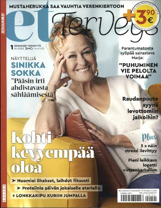 Ilta-Sanomat Teemalehti ET Terveys 1/2020