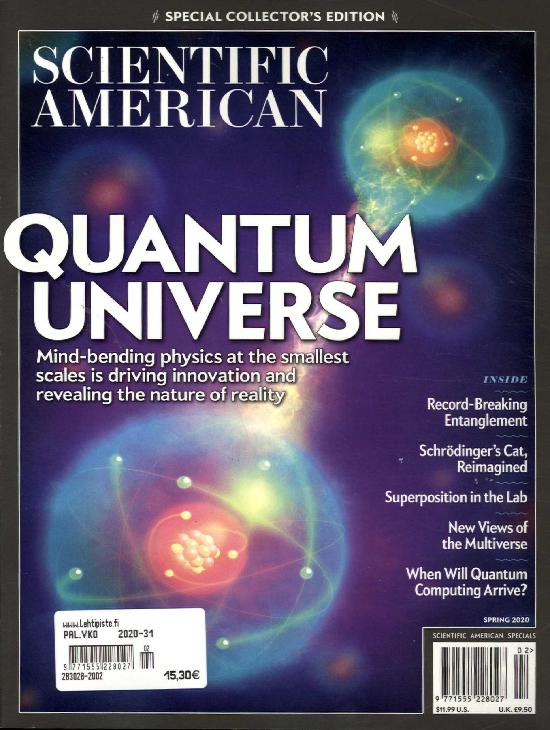 Scientific American Bookazine 2002
