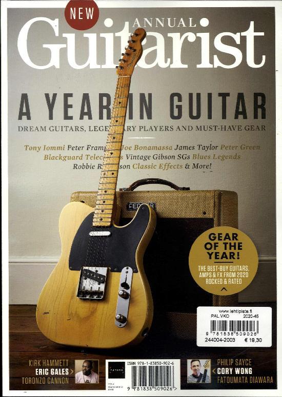 Guitarist Presents Bookazine