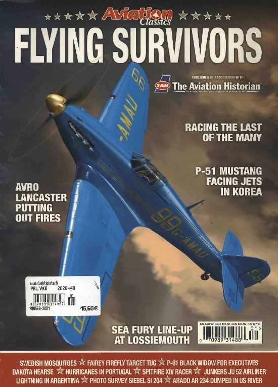 History Bookazines (Morton) Flying Survivors