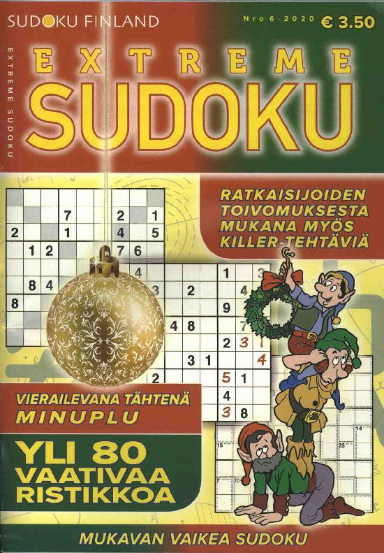 Extreme Sudoku Nro 6 2020