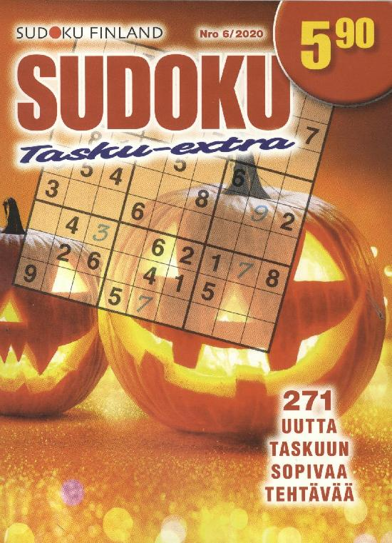 Sudoku Tasku-Extra Nro 6/2020