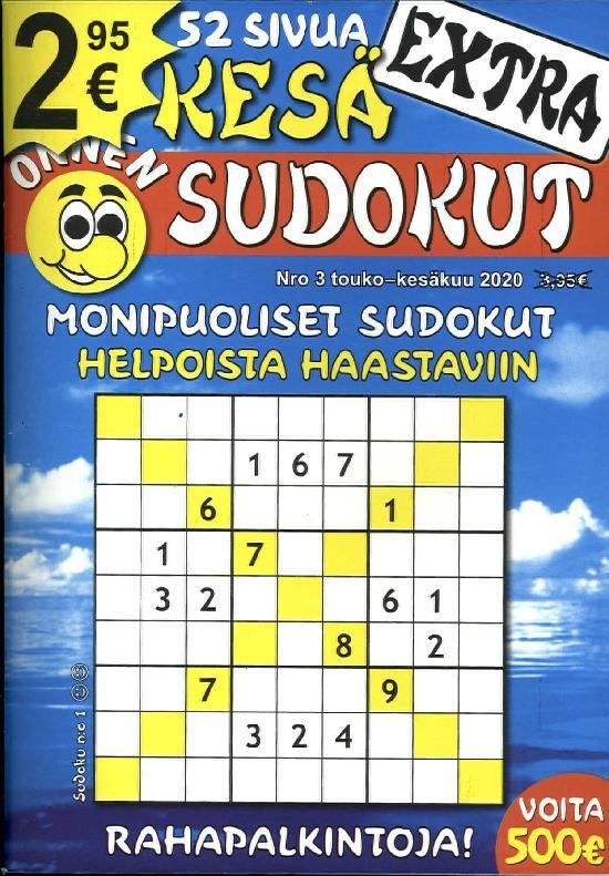 Onnen Sudokut Extra