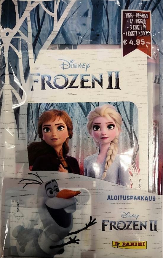 Disney Frozen 2 -aloituspakkaus (tarrat) 1/2019