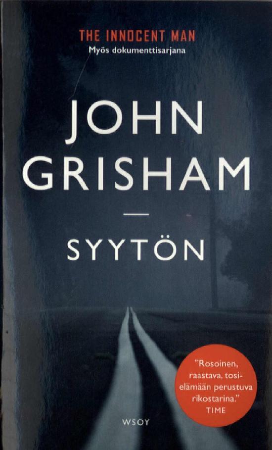 Grisham, John: Syytön