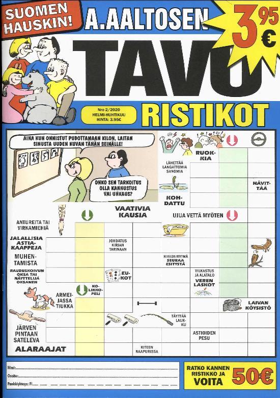 A.Aaltosen Tavuristikot 2002