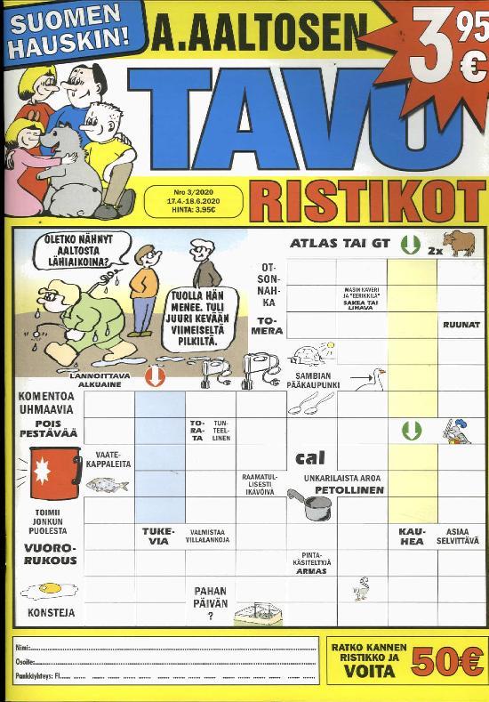 A.Aaltosen Tavuristikot 2003
