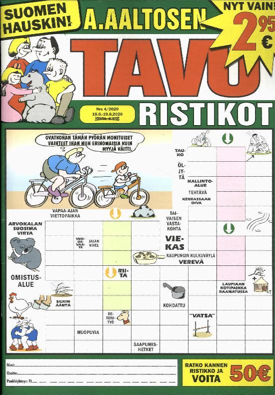 A.Aaltosen Tavuristikot 2004