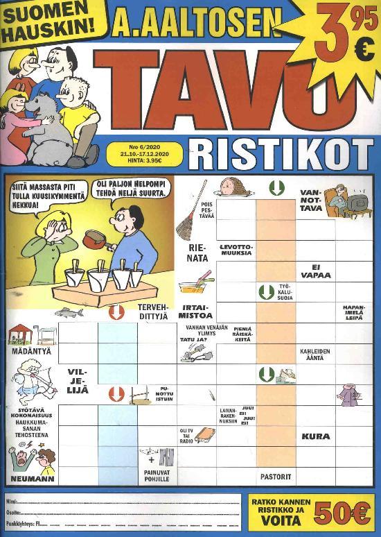 A.Aaltosen Tavuristikot 2006