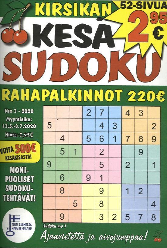 Kirsikan Sudoku 2003