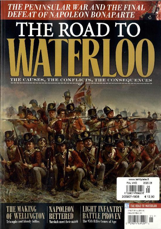 Military History Bookazines (Key Publishing) Road to Waterloo