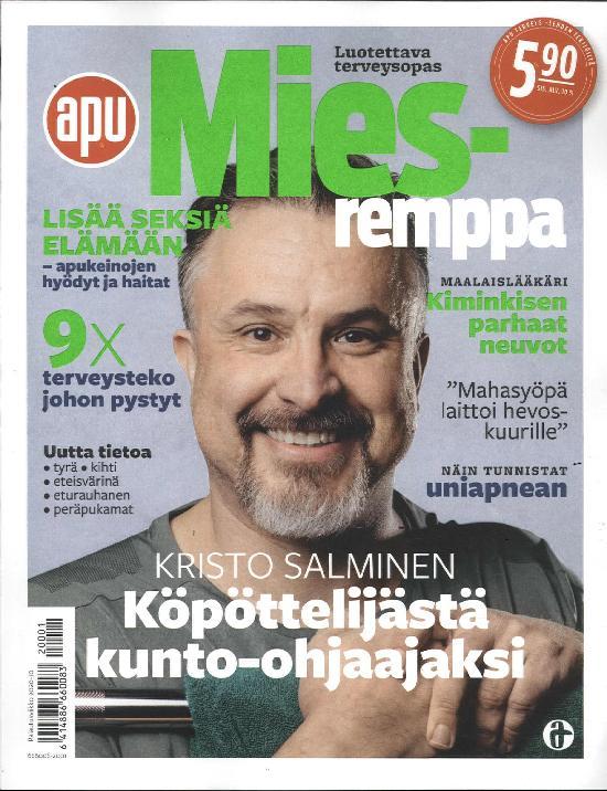 Miesremppa 1/2020 Apu Terveys- lehden tekijöiltä