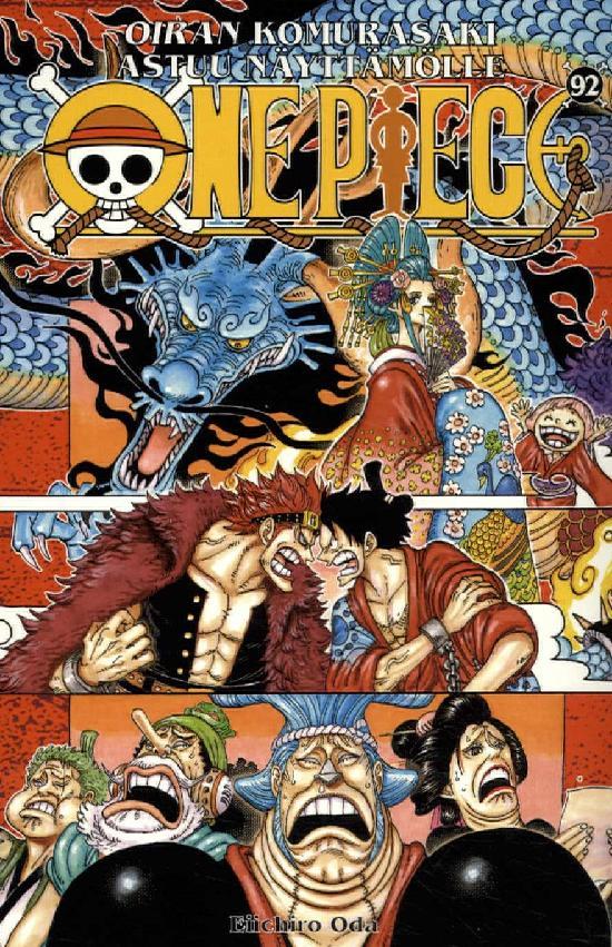 One Piece -sarjakuvakirja 92 2020