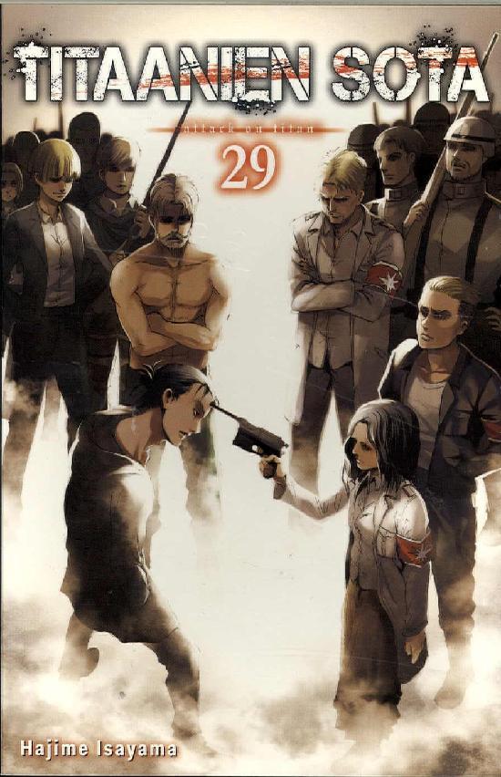Titaanien sota -sarjakuvakirja Osa: 29/29+ 2020