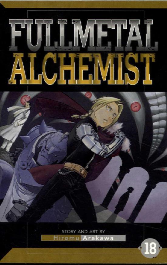 Fullmetal Alchemist -Sarjakuvakirja 18 2020