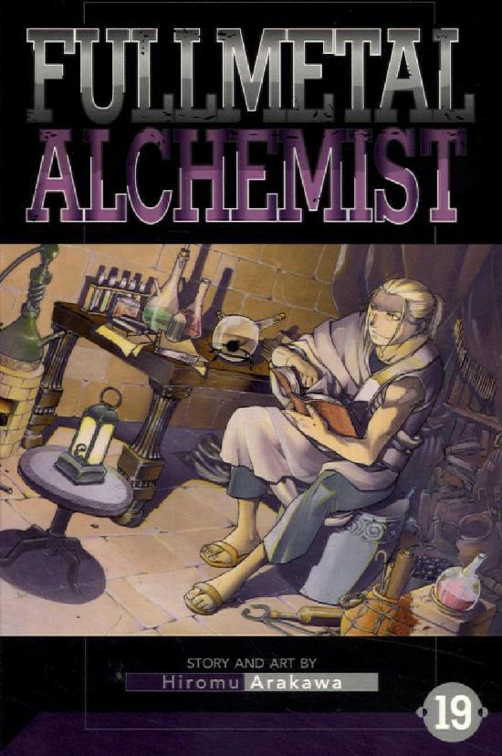 Fullmetal Alchemist -Sarjakuvakirja 19 2020