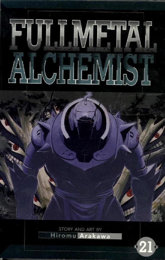 Fullmetal Alchemist -Sarjakuvakirja 21 2020