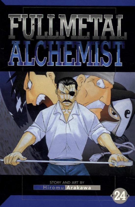 Fullmetal Alchemist -Sarjakuvakirja 24 2020