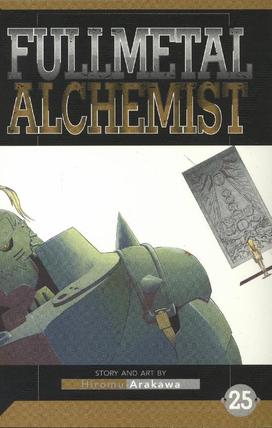 Fullmetal Alchemist -Sarjakuvakirja 25 2020