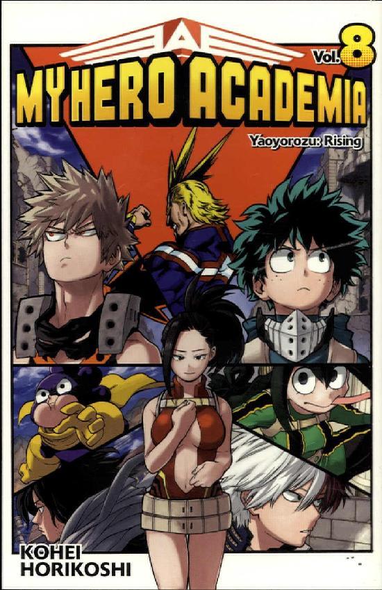 My Hero Academia (Sarjakuvakirja) Osa 8/18+ 2020