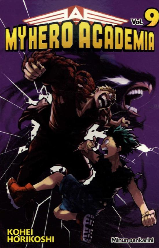 My Hero Academia (Sarjakuvakirja) Osa: 9/18+ 2020