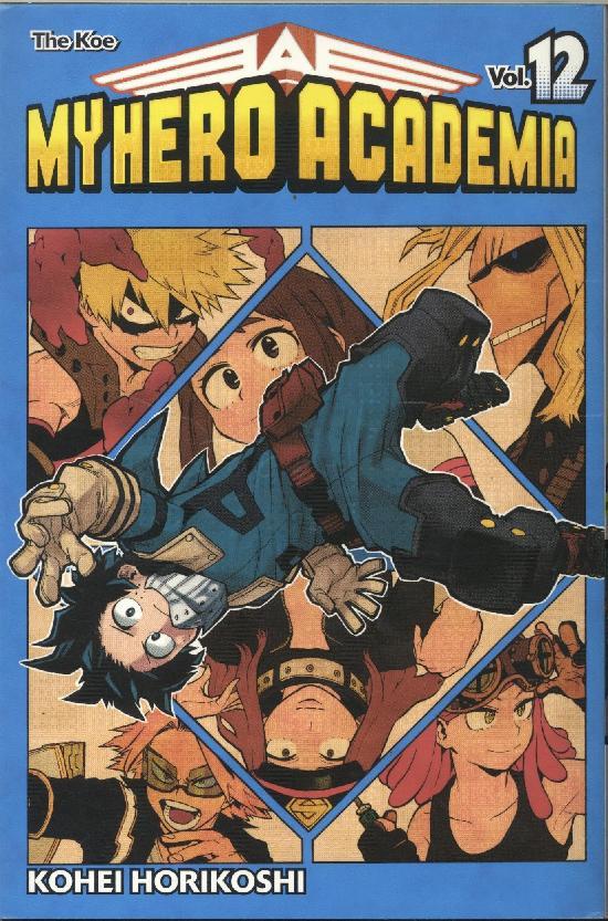 My Hero Academia (Sarjakuvakirja) Osa: 12/18 2020