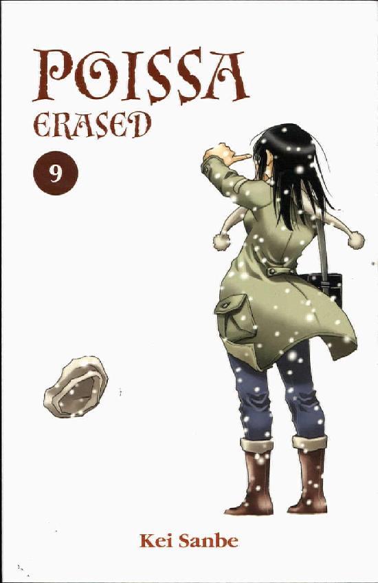 Poissa - Erased (Sarjakuvakirja) 9/9 2020