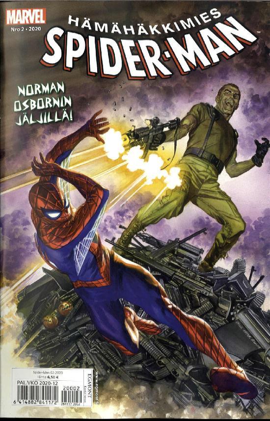 Spider-Man (suom.) Nro 2 2020 Norman Osbornin jäljillä!