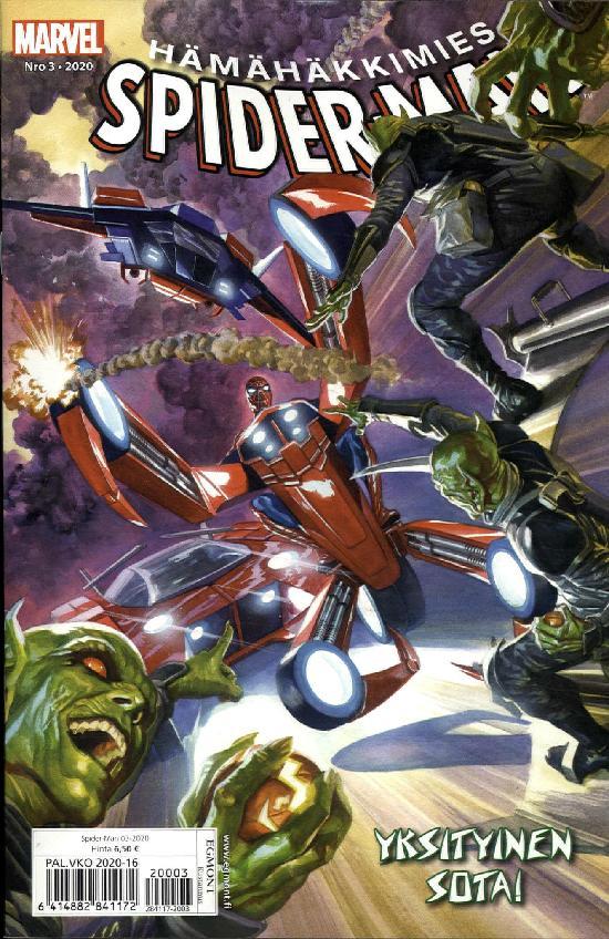 Spider-Man (suom.) Nro 3 2020 Yksityinen sota!