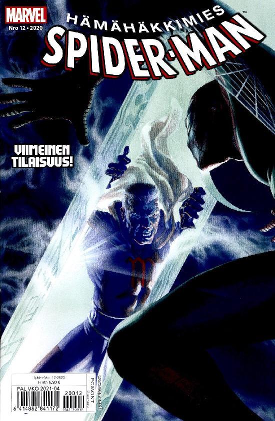 Spider-Man (suom.) Nro 12 2020 Viimeinen tilaisuus!