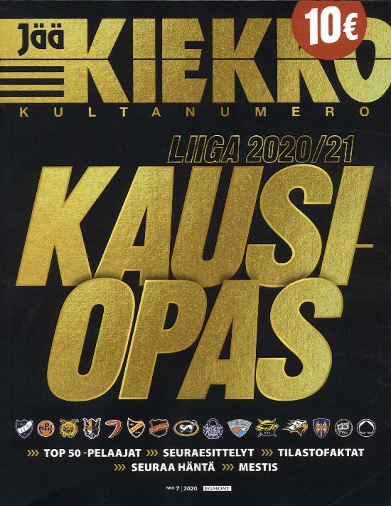 Jääkiekkolehti Kultanumero KAUSIOPAS 2020/21