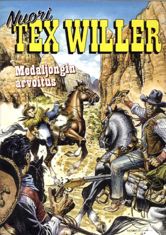 Nuori Tex Willer 03-2020 Medaljongin arvoitus