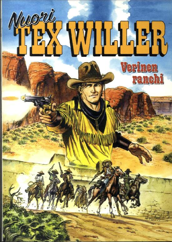 Nuori Tex Willer 07-2020 Verinen ranchi