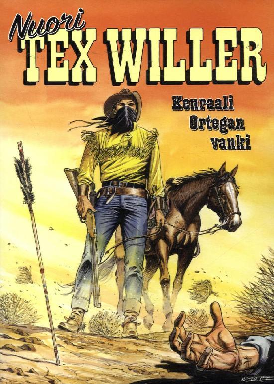 Nuori Tex Willer 08-2020 Kenraali Ortegan vanki