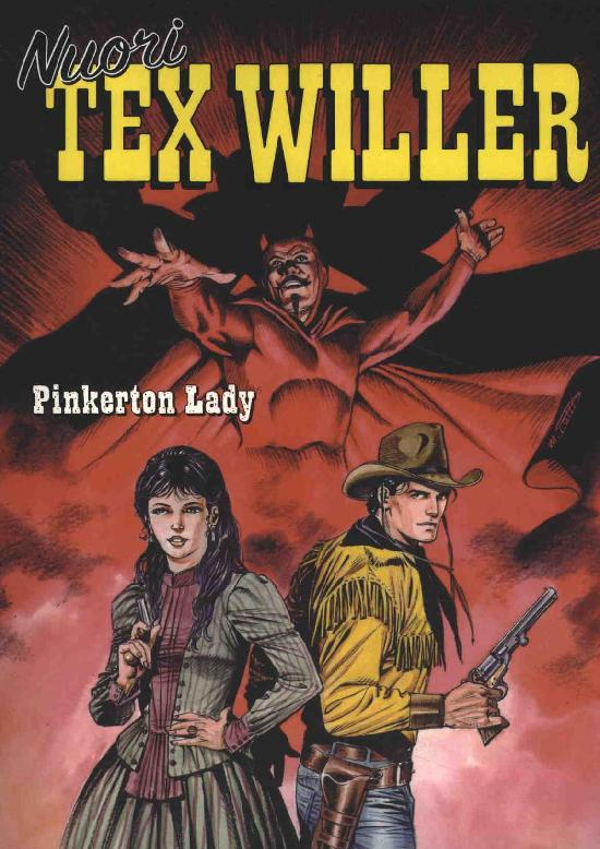 Nuori Tex Willer 10-2020 Pinkerton Lady