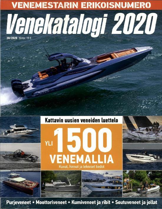 Venemestarin Erikoisnumero Venekatalogi 2020