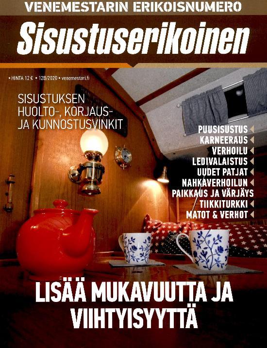 Venemestarin Erikoisnumero Sisustuserikoinen 12B/2020