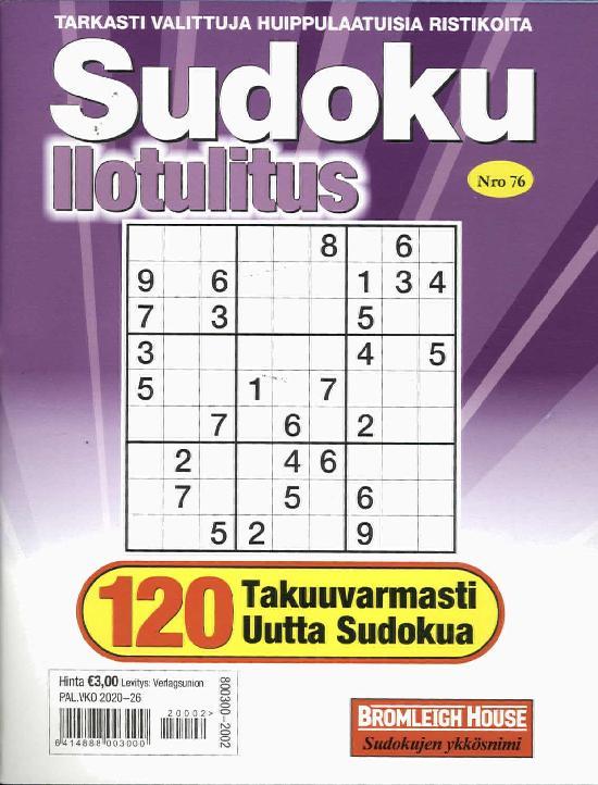 Sudoku Ilotulitus
