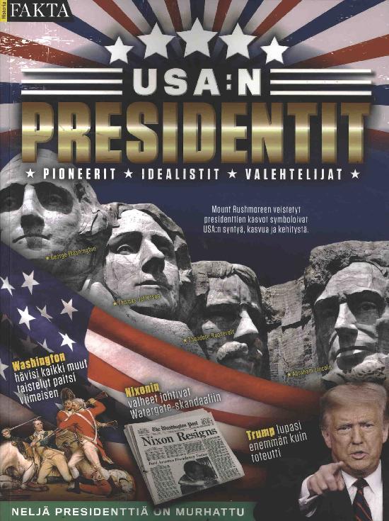 Historia Fakta USA:N PRESIDENTIT