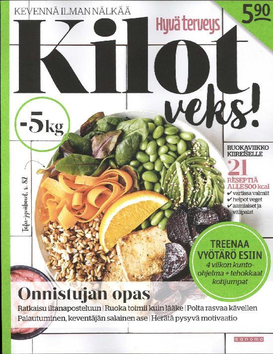 Kilot Veks - kevennä ilman nälkää