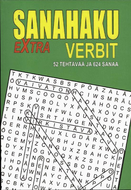Sanahaku Extra-Verbit 52 Tehtävää ja 624 sanaa