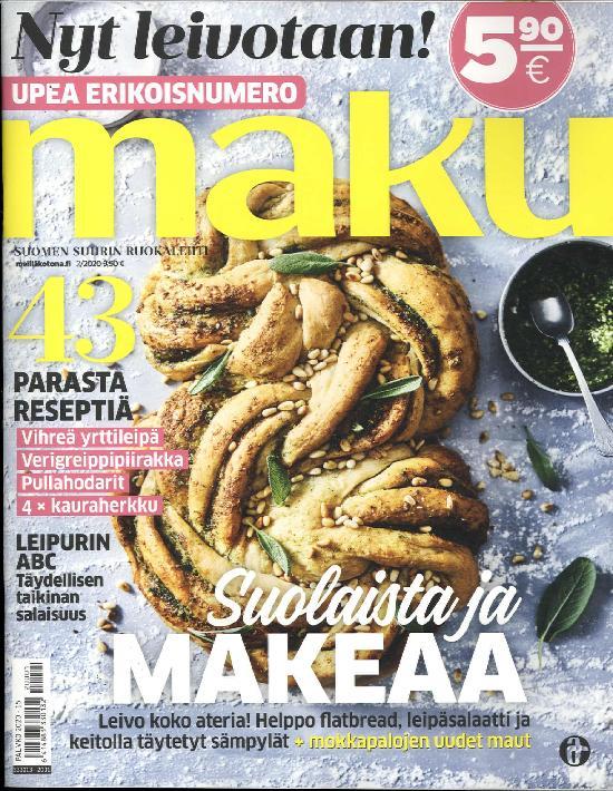 Maku - Nyt leivotaan! 1/2020 Erikoisnumero