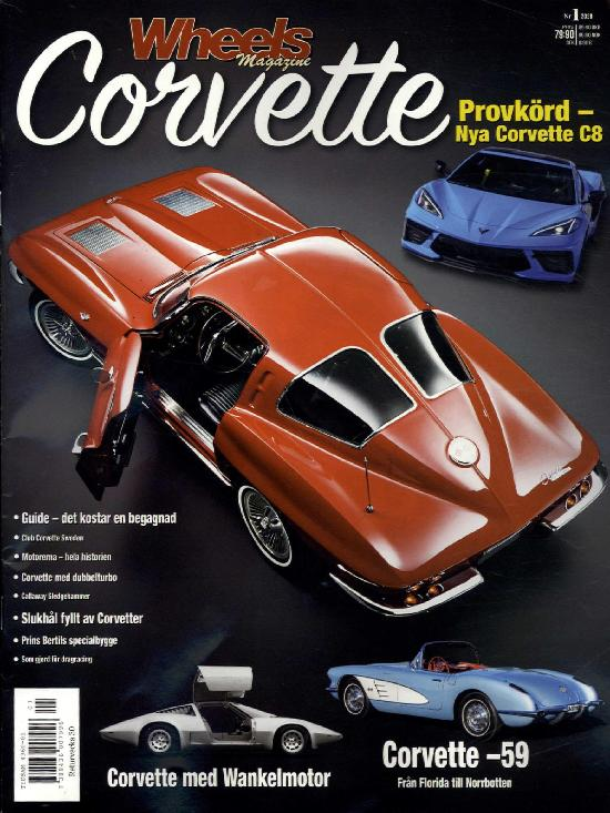 Wheels Special nr. 1 2020 Corvette