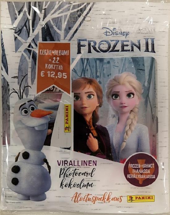 Disney Frozen 2 Photocards -aloituspakkaus 1/2020 Virallinen Photocard kokoelma